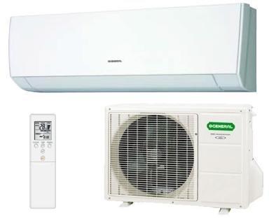Fujitsu ASHG12LMCA condizionatore fisso Climatizzatore split system Bianco
