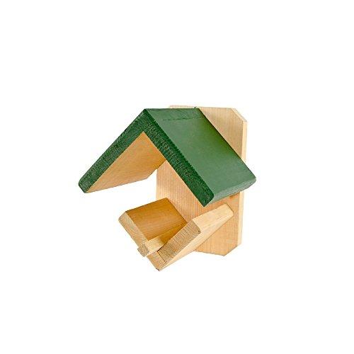 CJ Wildlife Dublin Futterstation für Wildvögel, grünes Dach/brauner Sockel, Einheitsgröße