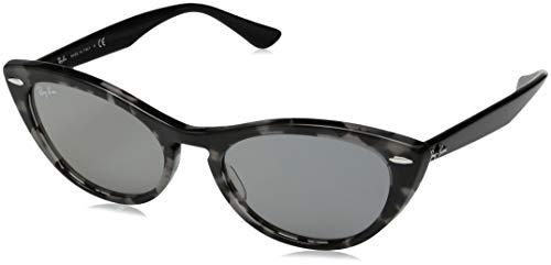 Ray-Ban Damen 0RB4314N Sonnenbrille, Braun (Havana Grey), 53
