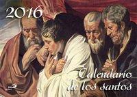 Calendario De Los Santos 2016