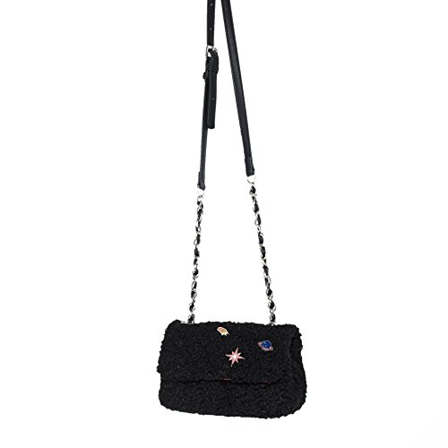 Parfois - Clutch - Borsa Tracolla School Night - Donne Nero