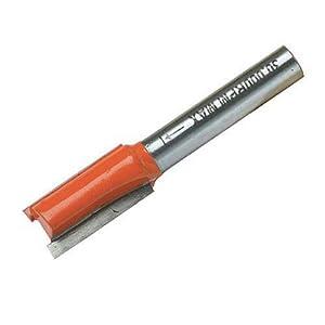 Silverline 243806 1/4-Zoll-Nutfräser, metrisch 5 x 12 mm