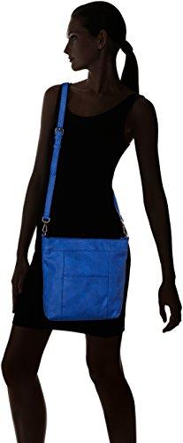 Le Temps des Cerises - Selena 4, Borse a tracolla Donna Blu (Bleu)