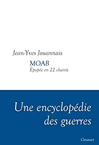 MOAB: Epopée en 22 chants par Jean Yves Jouannais