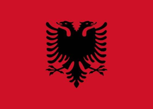 Outdoor ? Flagge, Banner, Fahne Albanien 90 * 150 cm - Outdoor-flagge