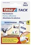 3 X tesa Klebestücke TACK 200ST transp. Big Pac 59401-00000-00