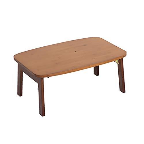 GAIQIN Dauerhaft Laptop-Tisch – Bambus – Faltbarer Tisch – Starke Tragfähigkeit – Keine Installation erforderlich