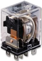 RELAY, DPDT, 120VAC, 28VDC, 15A LY2-DC48 By OMRON ELECTRONIC COMPONENTS 120vac Power Relay