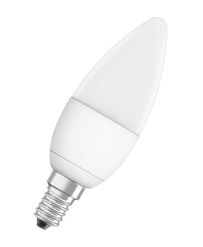 Osram LED Superstar Classic B25 4.5 Watt (ersetzt 25 Watt), Sockel E14, extra warmton (827), dimmbar, Kerzenform, 230 V (Nacht Bade)