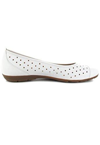 Gabor 24169, Ballerines femme Blanc