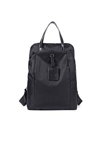 LYARA Große Kapazität Sport- und Freizeittasche Handtasche Umhängetasche/Wandern Sport Wandern Männer und Frauen Umhängetasche Aufbewahrungstasche Studententasche-black-black