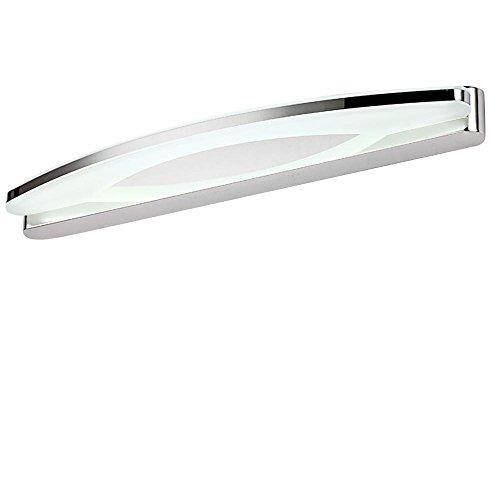 Lonfenner Badezimmer Lampe Bad Badezimmer Wand Spiegel light Kosmetikspiegel beleuchtet LED-Beleuchtung, minimalistischen modernen wasserdicht und Spiegel Nebelscheinwerfer (60cm) , Cool white Light