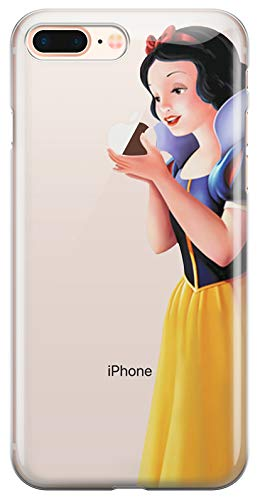 ALL4TOUCH Cover iPhone 6 6S Plus S Principesse Favole (iPhone X/XS, Biancaneve)