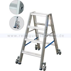 Krause 80 mm tiefe Stufen für hohe Stabilität und großen Komfort