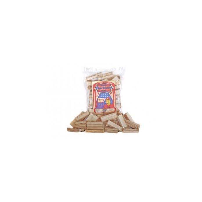 Axtschlag Rucherkltze Hickory 15 Kg Mehrfarbig