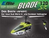 Blade 120SR BNF Remote Controlled Helicopter–Spielzeug Fernbedienung (Li-Polymer, 500mAh, 320mm, 130mm, 106g) (Blade Sr)