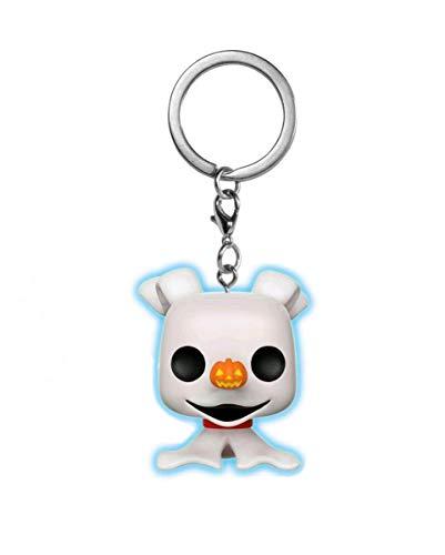 Horror-Shop Zero Pop! Schlüsselanhänger - Disney Fanartikel für Tim Burton Fans (Town Halloween Disney-film)