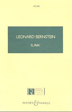 Slava!: A Concert Overture. Orchester. Studienpartitur. (Hawkes Pocket Scores)