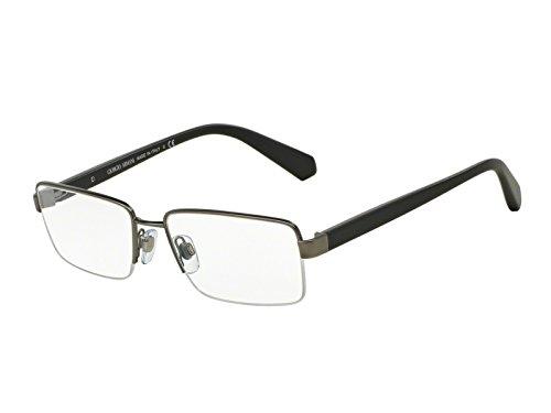 Giorgio Armani Brillen Für Mann 5053 3003, Matte Gunmetal Metallgestell, 53mm
