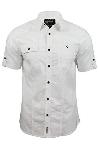 shirt-mens-da-dissident-sigma-dobby-banda-maniche-corte-bianco-ottico-s