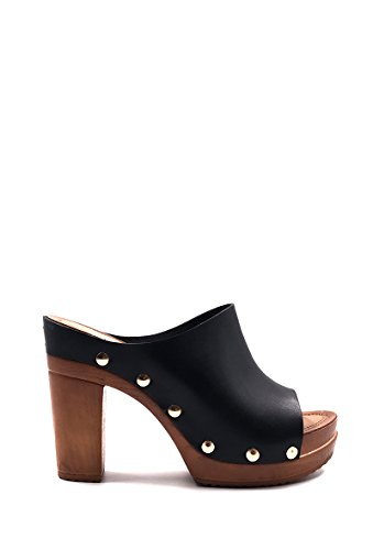 CHIC NANA Chaussure Femme Mode Sandale Sabot à Talon.