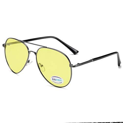 ZHAS High-End-Brillen Sonnenbrillen Oval Damen Herren Nachtsicht Polarized Photochromic Anti-Blaulicht Chameleon Eyewear Uv400 Driving Goggle Personalisierte High-End-Sonnenbrillen