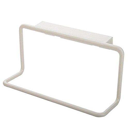 bodhi2000® Badezimmer Küche Handtuch Rack zum Aufhängen Halterung Schrank Aufhänger, plastik, weiß, Einheitsgröße - Kabinett Das Handtuch Küche über