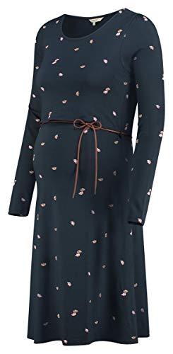 Noppies Damen Umstandsmode Kleid Dress Hochzeitskleid 80548 (XL, Dress Blues (P093))