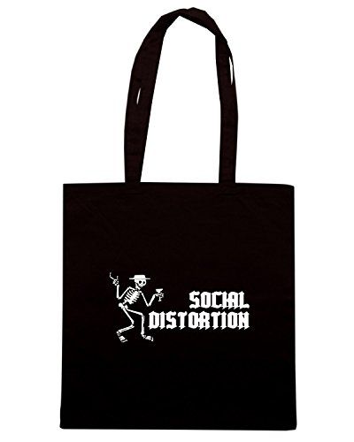 T-Shirtshock - Borsa Shopping FUN0406 1230 social distortion bumper sticker 43364 Nero