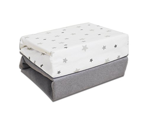 cuddles-collection-magical-stars-crib-fitted-sheets-white