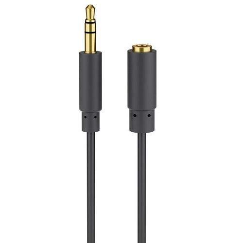 Cable extensión alargador Auriculares Mini Jack 3.5