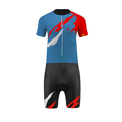 Uglyfrog Skinsuit Maillot Ciclismo Uomini Autunno/Estate A Maniche Corta Ciclismo Body All'aperto Aderente Sport Abbigliamento Triathlon Asciugatura Veloce LTFX02F