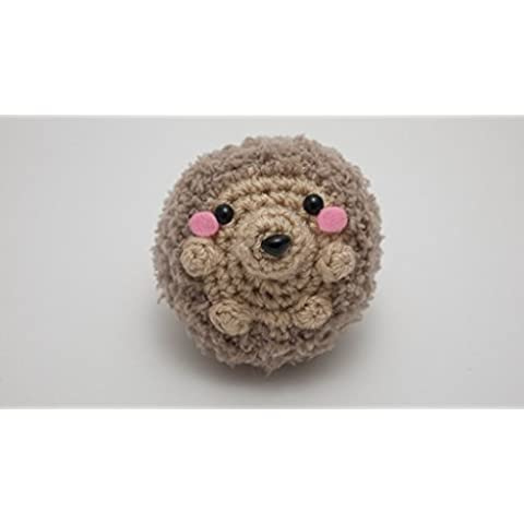Erizo de ganchillo amigurumi crochet