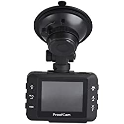 Proofcam PC202 Dashcam with Memory Card and Case Kit
