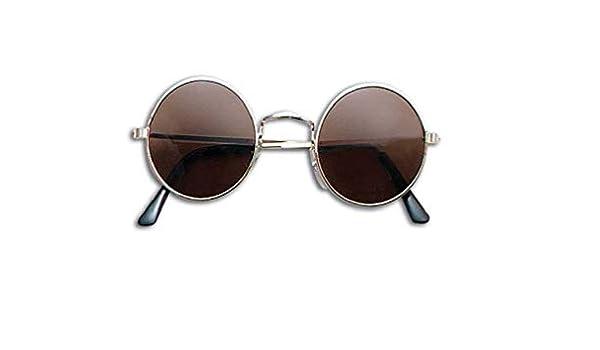 Hippy Hippie 60s 70s Red John Lennon Round Ozzy Granny Fancy Dress Glasses Specs