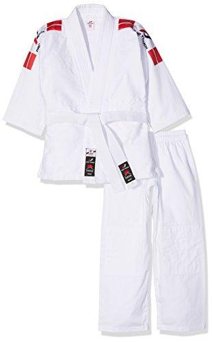 Pro Touch Kinder Keiko Judoanzug, Weiß, 150