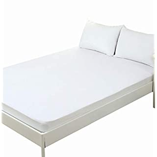 ACTNOW Waterproof Bed Bug Proof Box Bed Encasement Protector Bed Mattress Cover White 3FT Single (90*200+30cm)