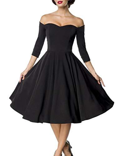 Belsira Premium Vintage Swing-Kleid 2XL -