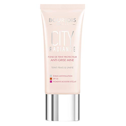 Bourjois Paris City Radiance Brightening Effect Skin Protecting Foundation - 06 Golden Sun
