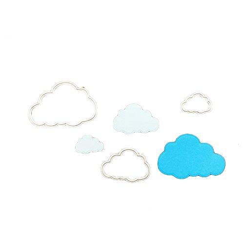 enipate Metall Formen 3Cute Cartoon Cloud für Scrapbook Album Einladung Dekoration Prägung - Tinkerbell Schablonen Halloween-kürbis