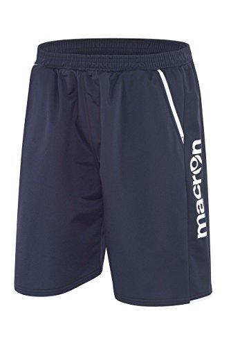 CHEMAGLIETTE! Calzoncini Corti con Tasche Uomo Pantaloncini Corti Macron Kama Shorts Bermuda, Colore: Blu Navy, Taglia: L