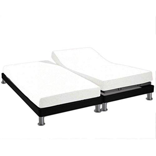 Soleil d'Ocre 617800 Sábana algodón ajustable para cama, uni Blanco, 2x80x200 cm