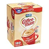 Nestl¨¦ Coffee-mate Original Liquid Creamer Portion Cups 180ct-NES 753032 by Nestl¨¦