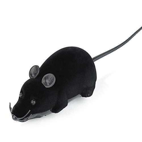 Juguete teledirigido eléctrico del Gato de la Rata,Juguete inalámbrico del ratón controlado para el niño al Mejor Regalo del Gato Divertido