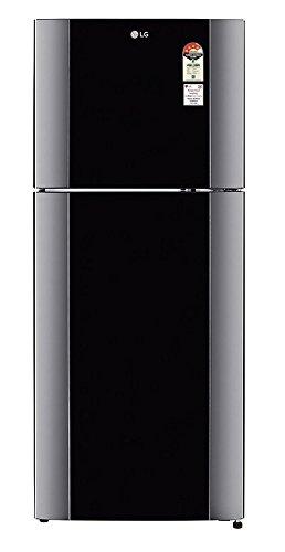 LG 407 L 4 Star Frost-Free Double Door Refrigerator (GL-I452TDBL,...