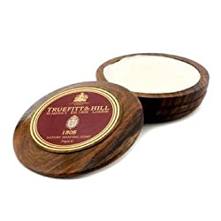 1805 Luxury Shaving Soap in Wooden Bowl