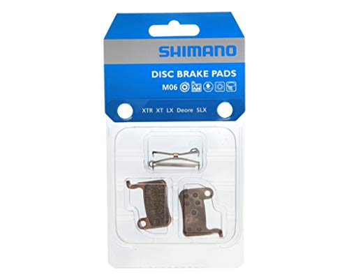 Shimano 8CL98010   Pastillas Freno Disco Xtr/Xt/Slx/Lx Met., Dorado