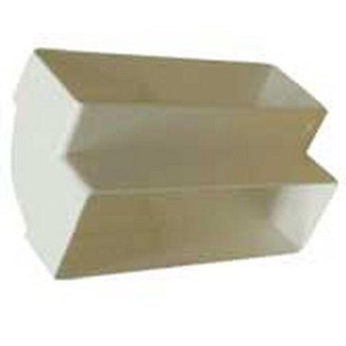 Kair SYS-100 DUCVKC239 - Raccordo a gomito verticale a 90°, sezione rettangolare, misure: 110 x 54 mm