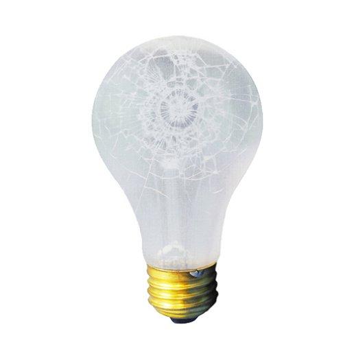 bulbrite bruchfestem Standard A19Leuchtmittel 60 wattsW 130 voltsV - A19-glühlampen Medium Base