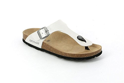 Grunland Sara, Chaussures de Plage et Piscine Femme, Noir (Nero Nero), 36 EU